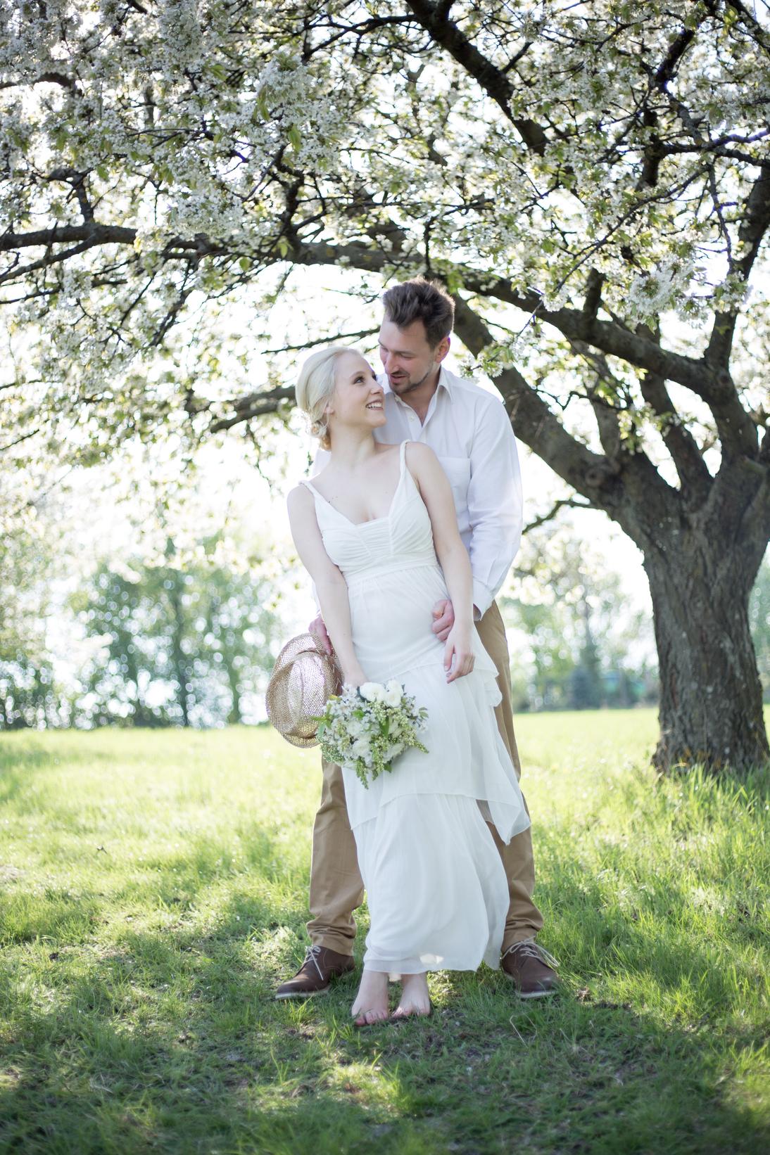 Hochzeit unter Kirschblüten, Burgenland
