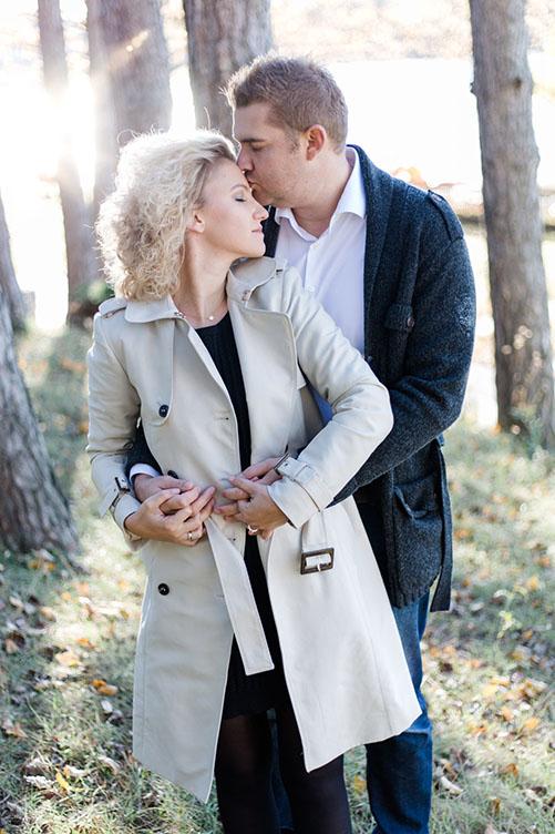 romantisches Paarshooting im Herbst, Burgenland