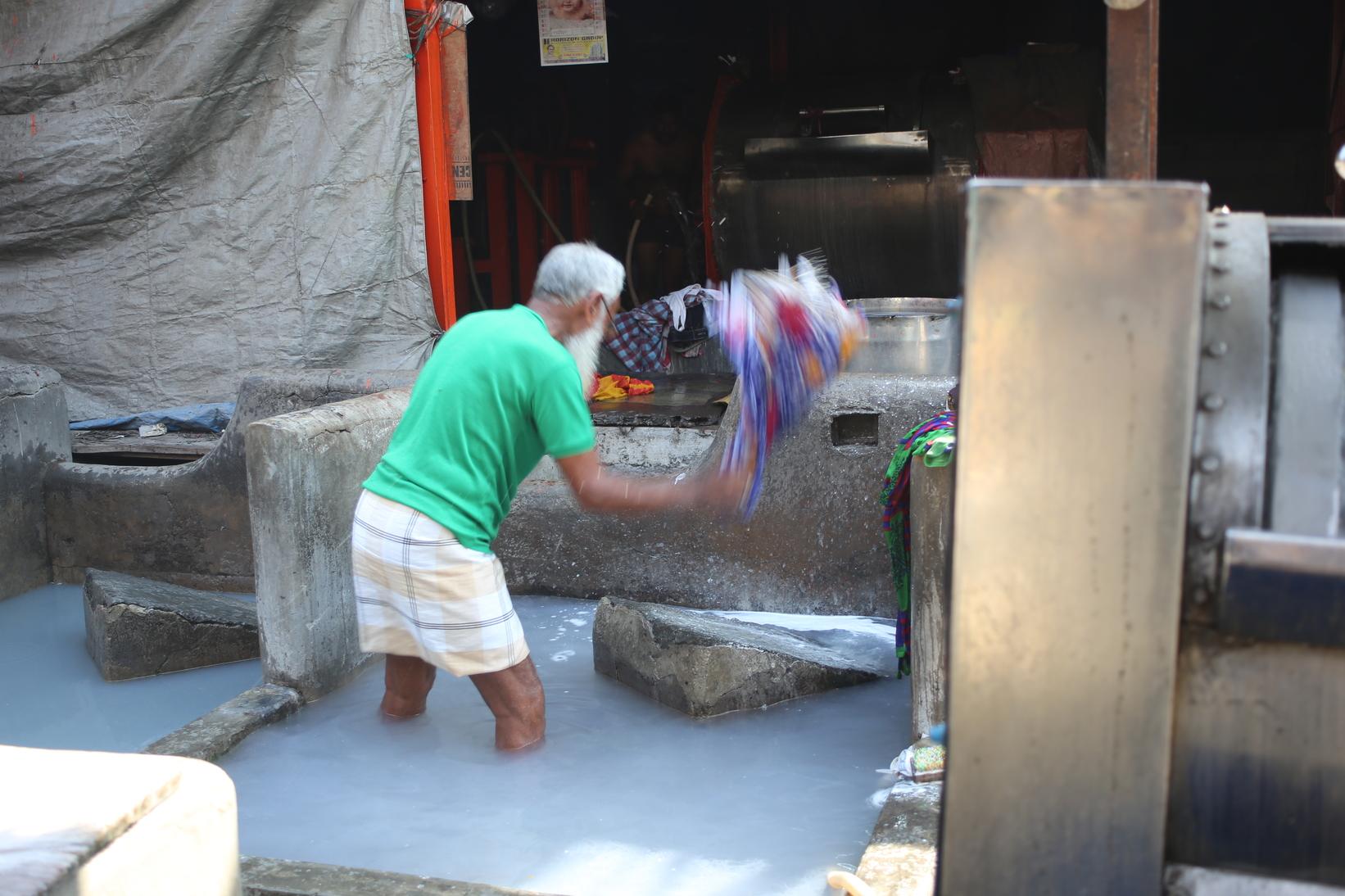 Wäscherei, Indien