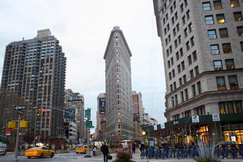 flat iron builing, New York City