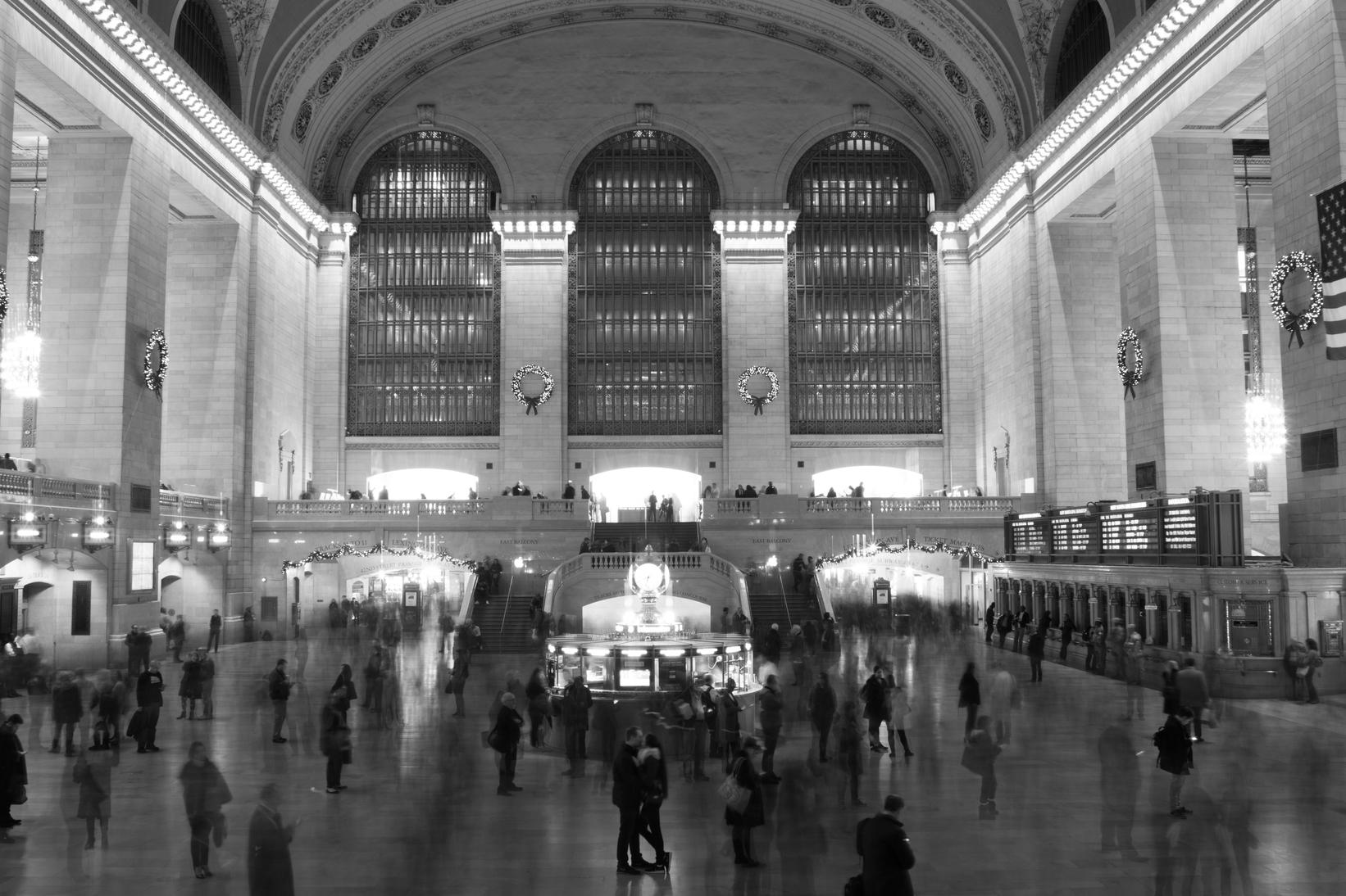 Sabine & Markus, Grand Central Station, New York City