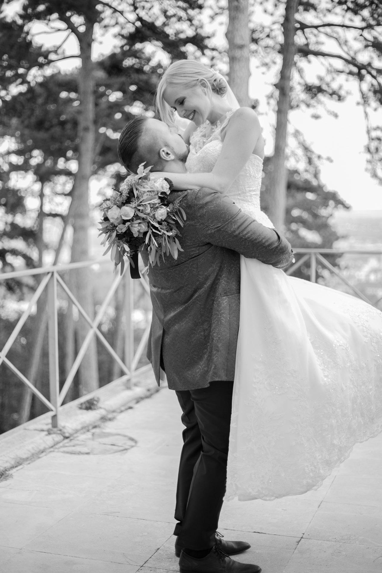 Nina & Marco romantisches Hochzeitsshooting im Burgenland
