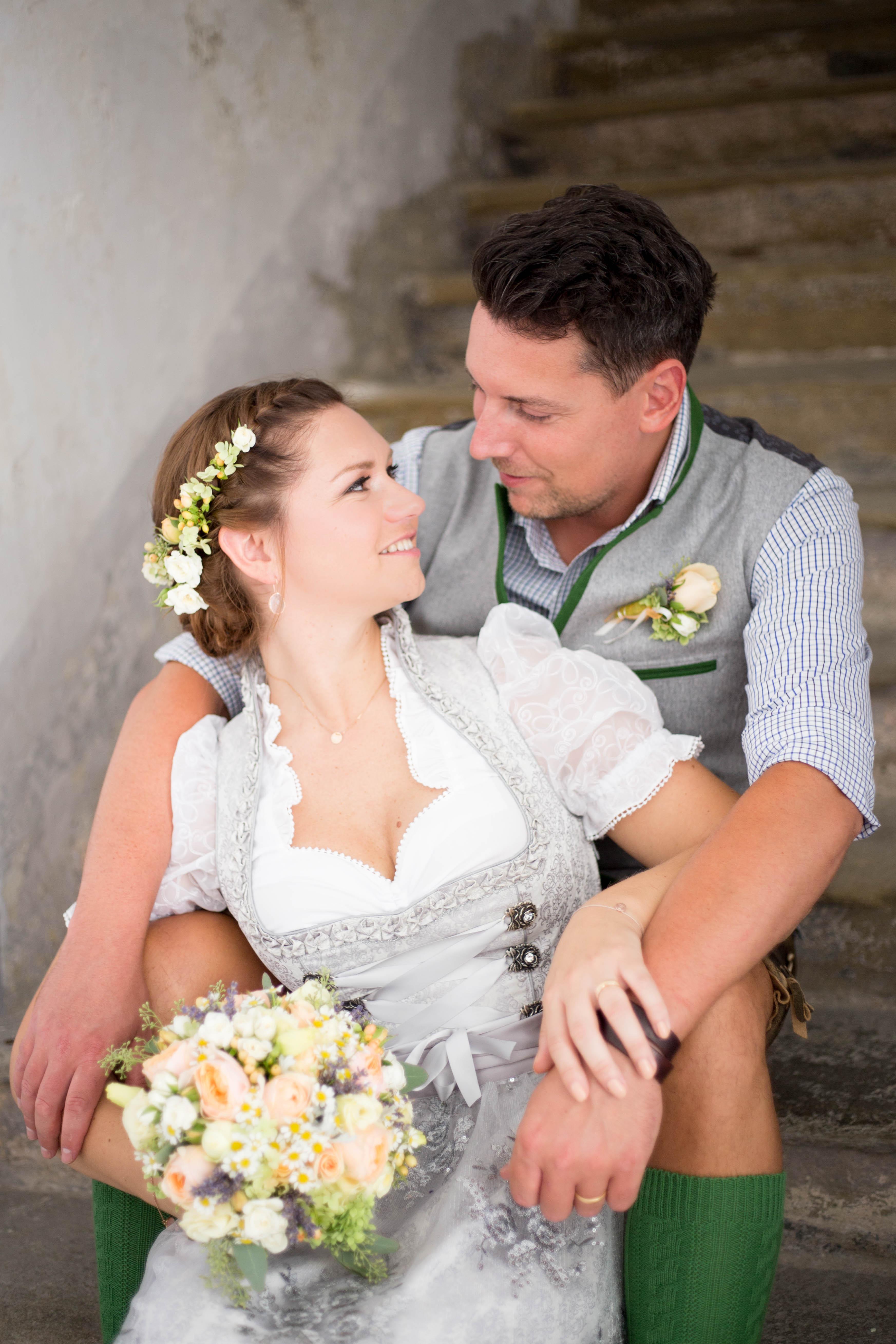 standesamtliche Hochzeit Martina & Gerd, Trachtenhochzeit in Niederösterreich
