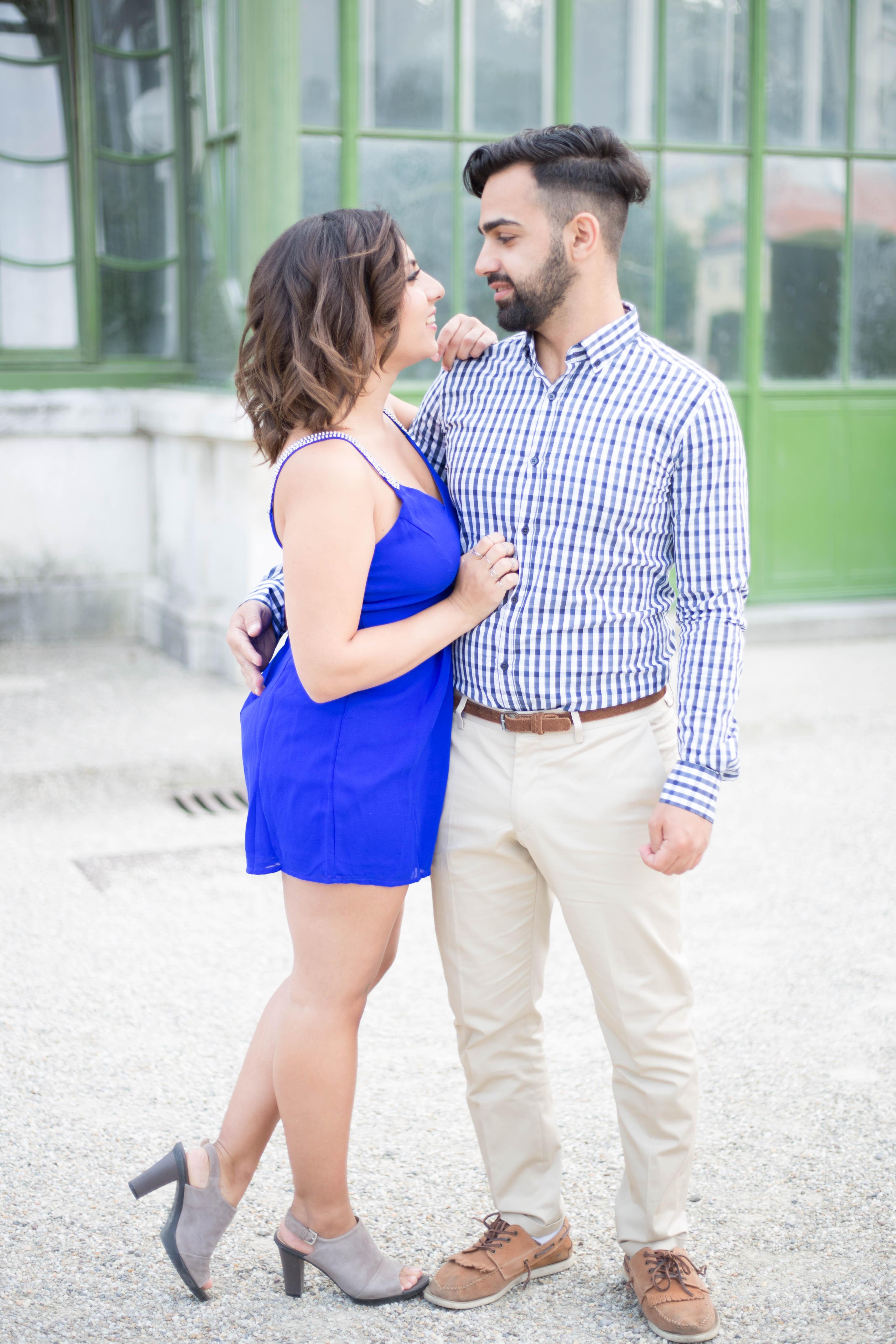 romantisches Paarshooting in Wien